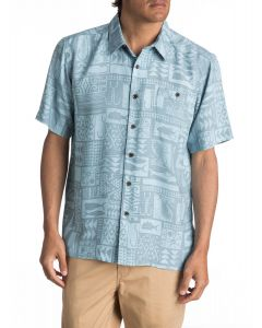 Quiksilver Men's Waterman Maludo Bay Short Sleeve Shirt