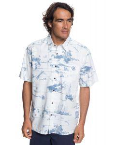 Quiksilver Waterman Pacific Seas Short Sleeve Shirt