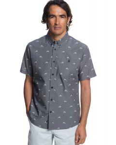 Quiksilver Waterman Mahi Hami Short Sleeve Shirt