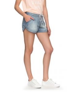 Roxy Women's Music Never Stop Denim Shorts