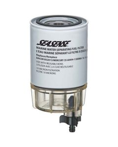 Seasense Universal Fuel Filter and Bowl (Replaces Racor B32013)