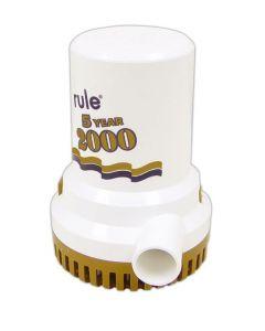 Rule Gold Series Manual Bilge Pump 1500 - 3700 GPH