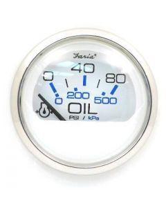 Faria Chesapeake Series - Oil Pressure Gauge