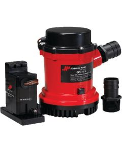 Heavy Duty Combo Bilge Pump With Automatic Electromagnetic Switch (Johnson Pump)