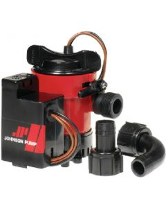 Combo Bilge Pump With Automatic Electromagnetic Switch (Johnson Pump)