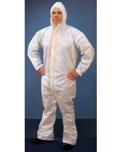 Micro-Porous Hooded Coverall (Buffalo Industries)