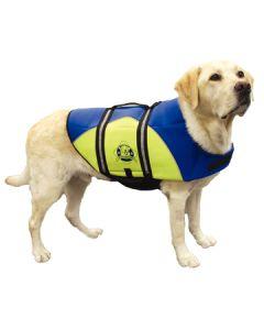Dog Life Jacket Neoprene Blue/Yellow XXS-L -Paws Aboard