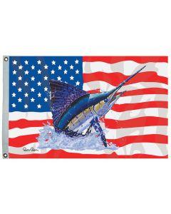 CAREY CHEN US/SAILFISH FISH FLAGS