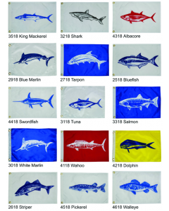Fisherman's Catch Flags - Taylor Made