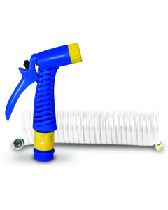 15' Seasense Coiled Hose with Nozzle