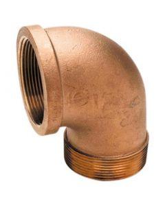 Bronze 90&Deg; Street Elbow (Brass Fittings)