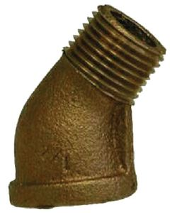Bronze 45&Deg; Street Elbow (Brass Fittings)