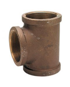 Bronze Pipe Tees