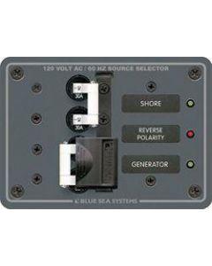 Blue Sea 12V A-Series AC Source Selection Toggle Circuit Breaker Panels