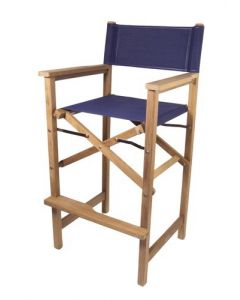 Teak Captain's Chair - SeaTeak