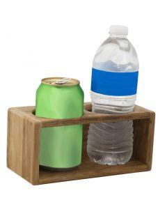 Teak Drink Rack / Holder - SeaTeak