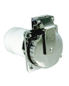 Stainless Steel Power Inlet (Marinco/Guest/Afi/Nicro/Bep)
