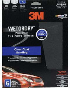 3M Imperial Wet Or Dry™ Paper Sheets
