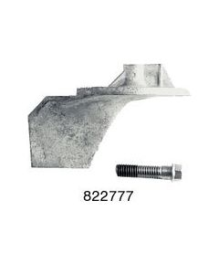 Replacement Trim Tab Anodes For Mercury/Mariner Part Number 822777
