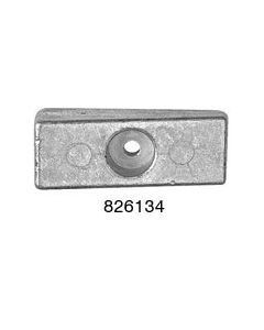 Replacement Side Mounted Pocket Anodes For Mercury/Mariner, Force Part Number 826134