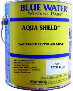 Blue Water Marine Paint Aqua Shield, Water Base Ablative, 45 Copper