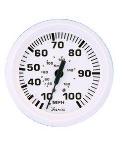 Faria Dress White Series - Speedometer