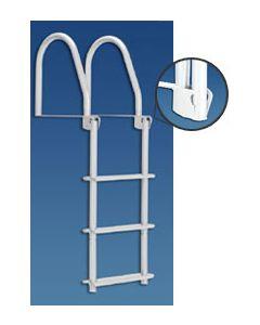 Dock Edge Flip-Up Dock Ladders