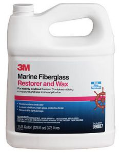 Marine Fiberglass Restorer & Wax (3m Marine)