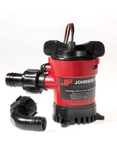"Johnson Pump Manual Cartridge Bilge Pump 3/4"" Port 12v"