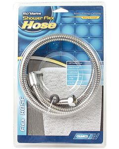 Camco Chrome Shower Flex Hose