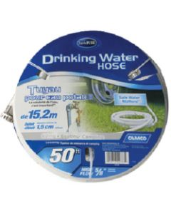 Camco Fresh Water Hose 75' 5/8 Id