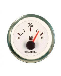 Sierra Premier Pro White Domed Oil Pressure Gauge 0-100psi