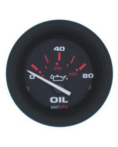 Sierra Amega Gauge-Oil Pressure 80Psi