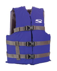 Stearns Boating Vest, Blue Youth