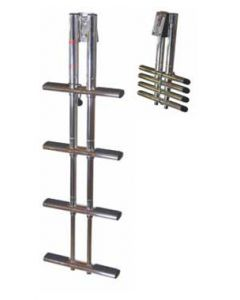 3 and 4 Step Telescoping Sport/Diver Ladders