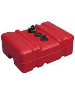 Moeller LPT12 Above Deck Fuel Tank, 12 Gallon Low Profile with EPA Cap