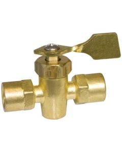 Seasense Female/Female Shut Off Valve, 1/4""