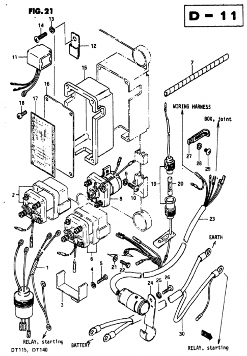 Dx6i Wiring