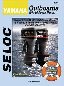 yamaha outboard 1995 2004 all 4 stroke 1 6cyl repair manual