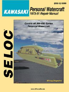 Seloc Yamaha Jet Ski PWC 2002-2011 Repair Manual