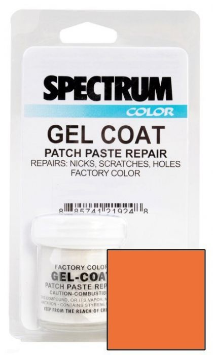Spectrum Color Nitro 2004 2017 Home Depot Orange Boat Gel Coat Patch Paste Repair Kit Iboats