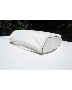 Adco Products Rv Ac Cover #25 25X9X41 White - Deluxe Heavy Duty Vinyl Air Conditioner Cover