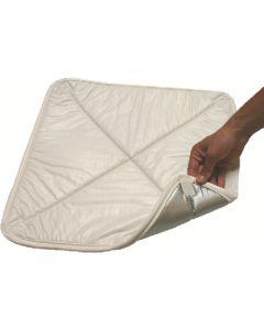 Vent Cover Silver/White - Solar Vent Cover