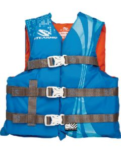 Stearns Pfd Youth Nyl Abstrct Wave Blu
