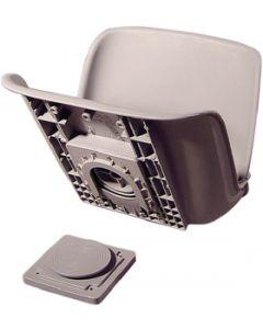 Tempress 45133 All-Weather QD® Seat Cushions, Dark Grey