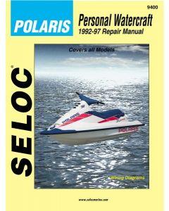Seloc Polaris Jet Ski PWC 1992-1997 Repair Manual All Models
