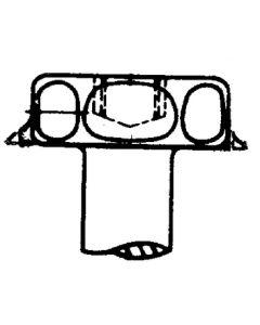 AP Products 8X1/2 Hex Screw 1000/Bg - Hex Washer Head Screws