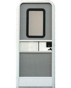 30X72 Radius Entrance Door-Rh - Rh Rv Entrance Doors