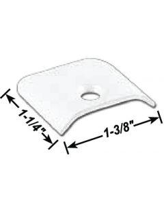 AP Products End Cap Blk  10/Pk - Aluminum End Cap