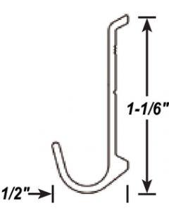 AP Products Drip Rail Blk 8' @5 - Insert Gutter - Drip Rail